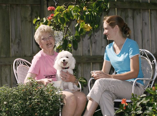 Companionship and senior health are linked