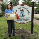 home sweet home care donates to scarf up and wig~gle