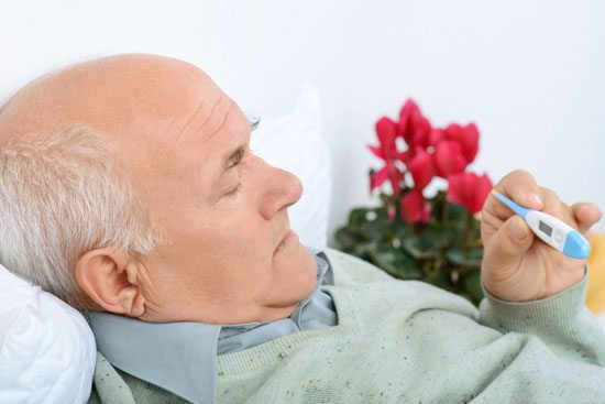 reduce the risk of flu for older adults